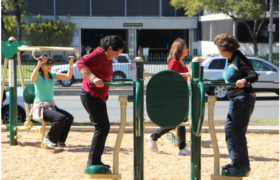 Outdoor Fitness Equipment - Simple and Inexpensive